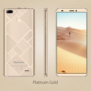 Image 5 - Blackview S6 טלפון סלולרי 4180mAh 5.7 אינץ HD + Sceen טלפון נייד 2GB + 16GB Quad Core אנדרואיד 7.0 כפולה חזרה מצלמה Smartphone