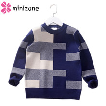 Get more info on the 2019 Children's sweater for boys Children's clothing autumn Winter new Keep warm Kids sweater pullover cardigan 8-13 years MM650