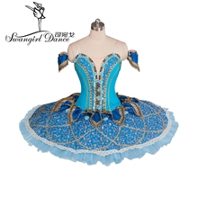 2015 New Arrival!adult blue swan lake ballet tutu for sale,performance dance costumesBT9061