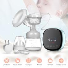 Электрический молокоотсос с аккумулятором, удобный, легкий, портативный прибор для откачивания материнского молока, аксессуары для послеродового периода