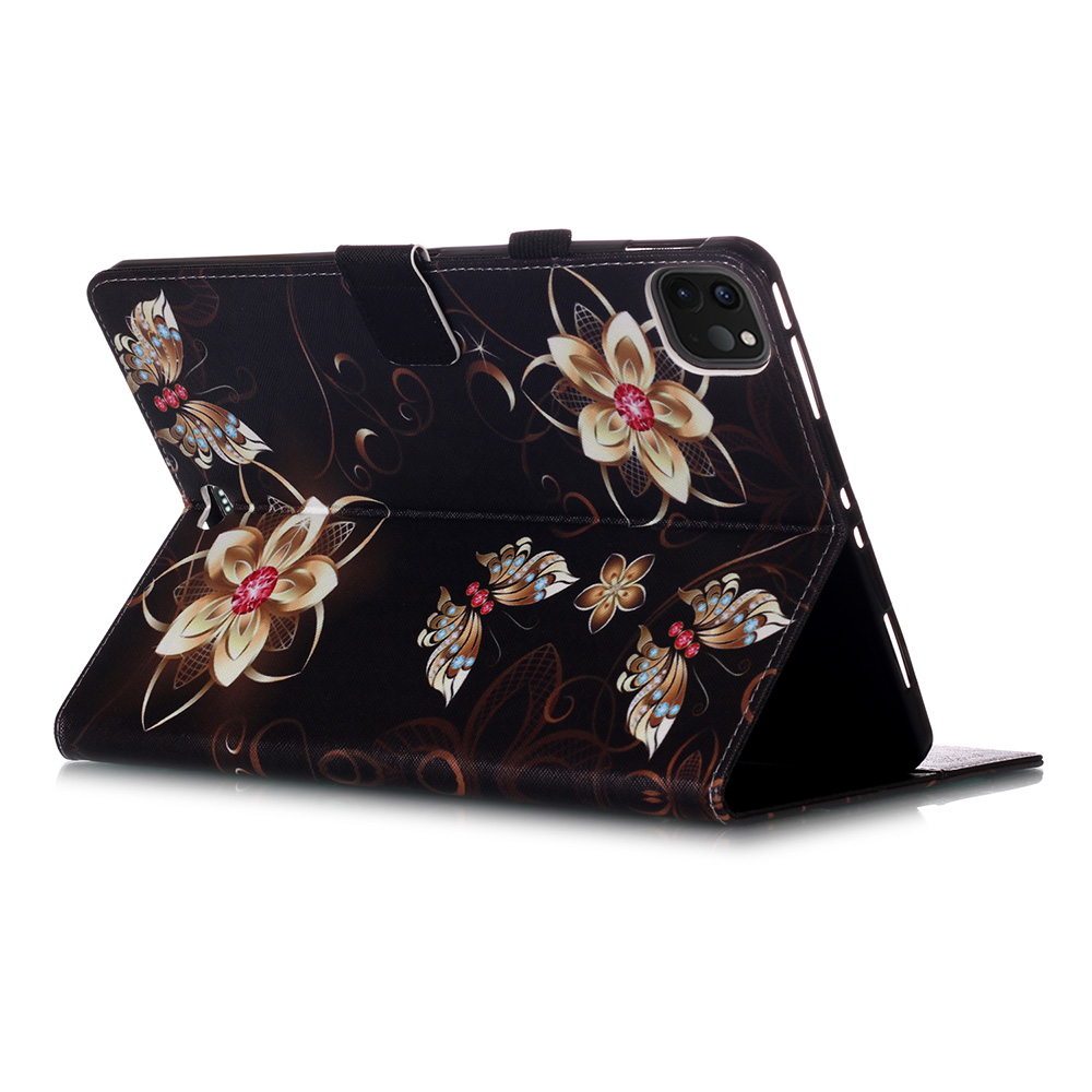 For Tablet Funda Wallet 11 Stand Case For iPad Owl Flowers Pro Cover Tablet Coque 2020