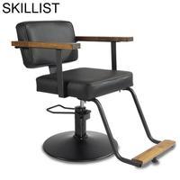 Schönheit Nagel Möbel Barbeiro Salon Belleza De Cabeleireiro Fauteuil Chaise Stoelen Cadeira Silla Barbearia Shop Barber Stuhl-in Frisörstühle aus Möbel bei
