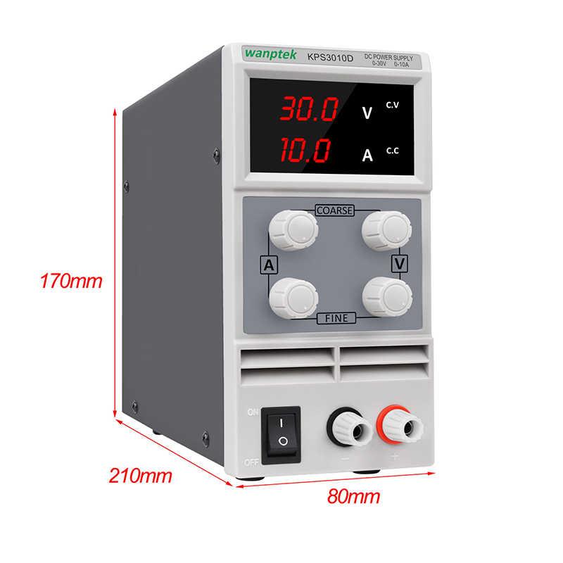 Régulateur de tension d'alimentation cc réglable série KPS 30 V 10A 30 V 5A 60V 5A stabilisateur de courant de puissance 3 chiffres affichage 30 V
