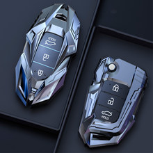 Car Protection Zinc Alloy Car Key Case For Hyundai KONA Encino Ix35 Grandeur Ig Accent Santa Fe Palisade 2018 2019 Cover