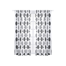 Modern Polka Dot Pattern Embroidered White Sheer Curtains Window Tulle Curtains for Living Room Bedroom Tulle for Kitchen Cafe beige polyester flannel europe embroidered blackout curtains for living room bedroom window tulle curtains home hotel villa