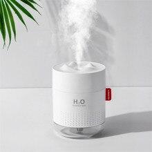 New Snow Mountain Humidifier Creative Desktop USB mini Diffuser 500ml Warm Light H2O Humidifier