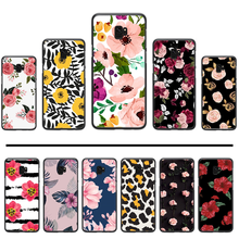 Camellia Rose Leaf Phone Case Cover For Samsung Galaxy S5 S6 S7 S8 S9 S10 S10e S20 edge plus lite(China)