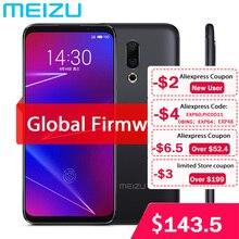 """Original meizu 16 4g lte 6g ram 64g rom telefone celular snapdragon 710 octa núcleo 6.0 """"2160x1080 p tela cheia câmera traseira dupla"""