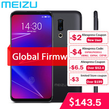 "Orijinal Meizu 16 4G LTE 6G RAM 64G ROM cep telefonu Snapdragon 710 Octa çekirdek 6.0 ""2160x1080P tam ekran çift arka kamera"