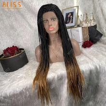 Bliss косы микро плетение синтетические волосы Синтетические