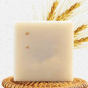 Handgemachte Seife Reis Bleaching Tiefe Reinigung Waschen Sauber Öl Steuer Bath Seifen für Gesicht Bade