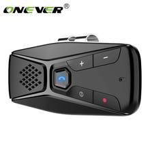 Onever Bluetooth Freisprecheinrichtung Wireless mit Mikrofon Bluetooth 5,0 Automatische Abschaltung Auto Connect Car Kit