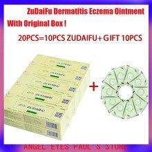 ZUDAIFU-Crema para la Psoriasis, 10 + 10 = 20 piezas