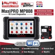 Autel MaxiPRO MP808 OBD2 skaner motoryzacyjny narzędzie diagnostyczne OBDII czytnik kodów skaner klucz kodowania jak Autel MaxiSys MS906 DS808