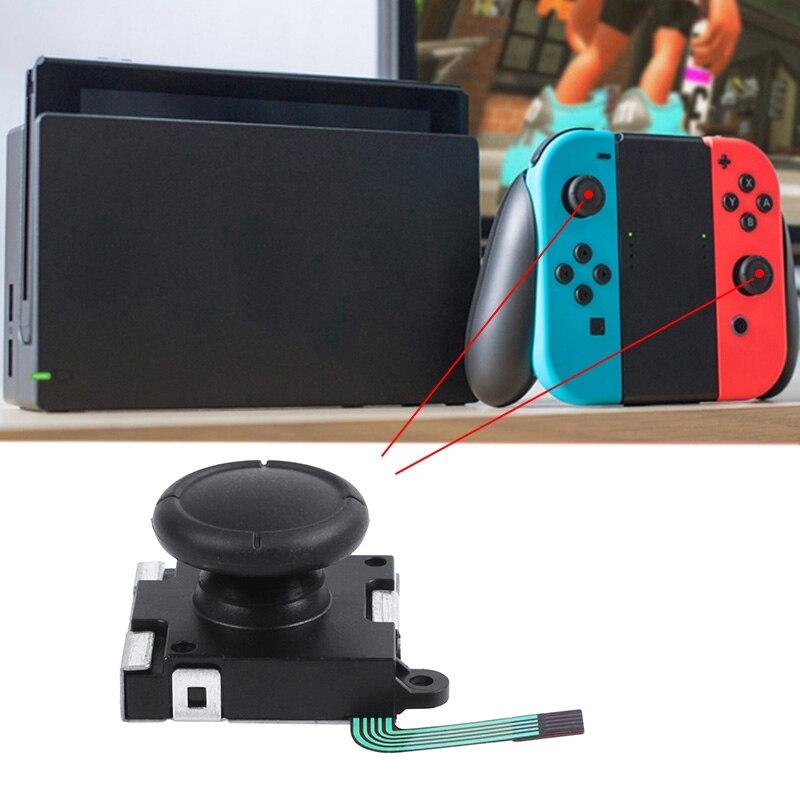 Analogowy dżojstik 3d palce kciuki zamienniki czujników dla kontrolera Joy Con Nintendo Switch
