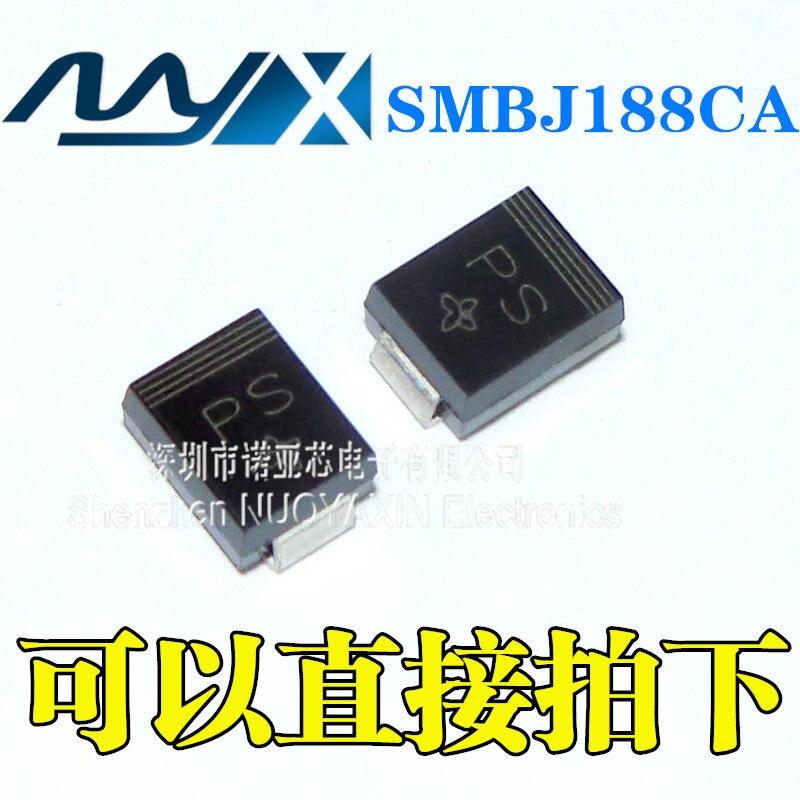 TVS Diodes 5 pieces Transient Voltage Suppressors 600W 48V Bidirect