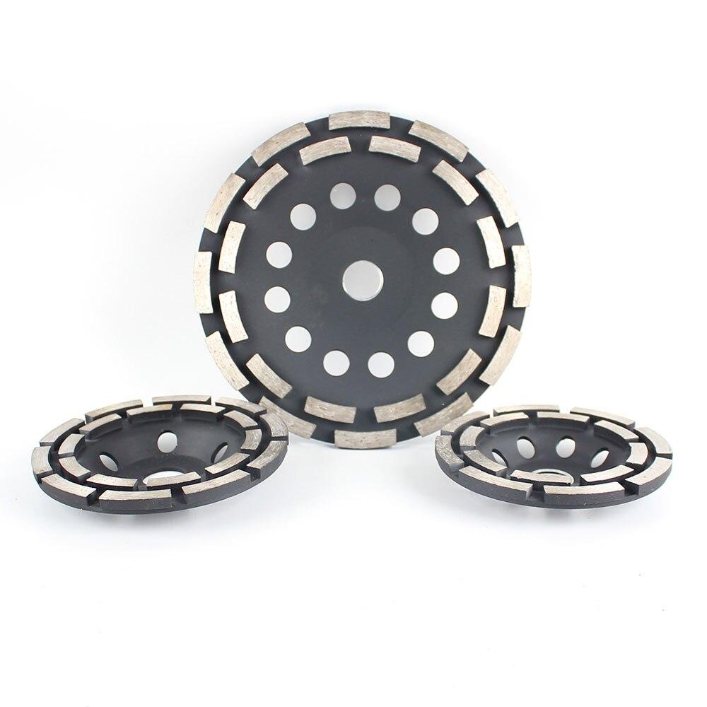 Купить raizi 115/125/180 мм алмазный шлифовальный диск для бетона двухрядный