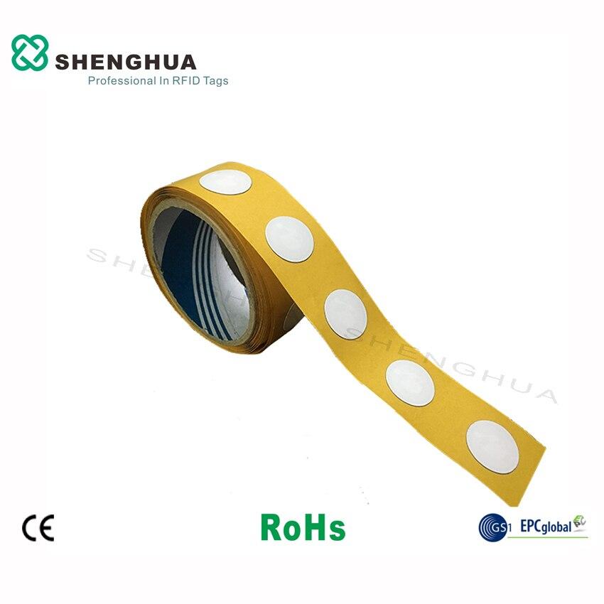 10 шт. ISO14443A бумага для печати программируемая rfid nfc тег наклейка этикетка 13,56 МГц HF пассивный анти Металл для смартфонов