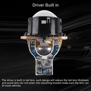Image 5 - SANVI 3inches 69W 5500K Auto Bi led&Laser Projector Lens Headlight  With Hella 3r Mounting Bracket LHD RHD Car Light accessories