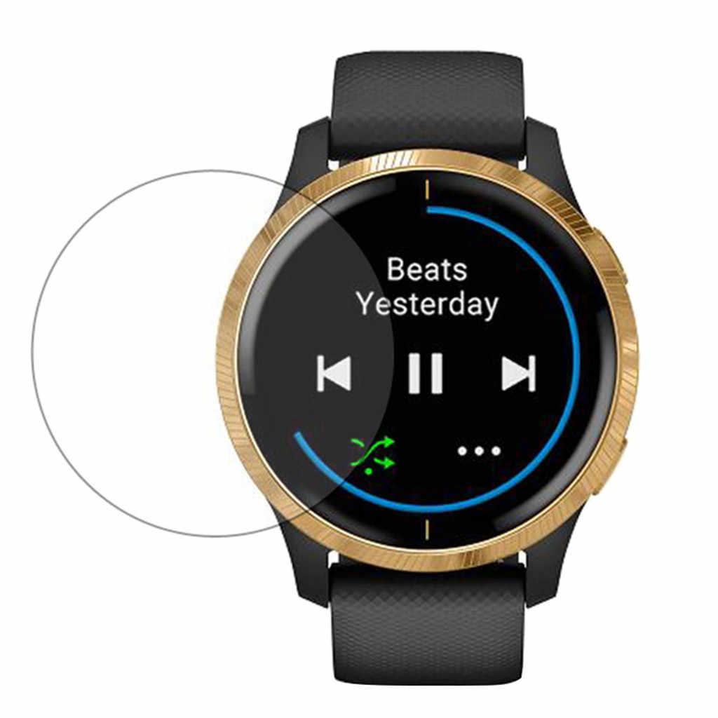 1 قطعة بولي يوريثان هيدروجيل لينة شفافة طبقة حماية الشاشة ل Garmin Venu ساعة واقي للشاشة ساعة ذكية اكسسوارات