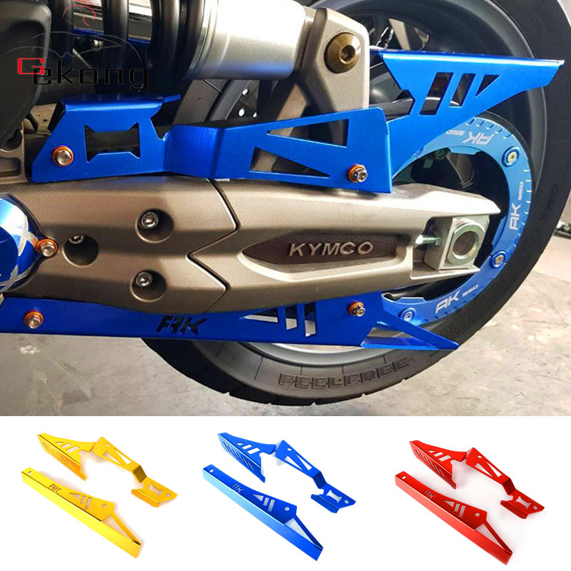 For <font><b>KYMCO</b></font> AK550 <font><b>AK</b></font> <font><b>550</b></font> 2017-2019 Motorcycle CNC Aluminum Refit upper and lower chain cover Belt cover Shield accessories image