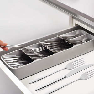 Storage-Box Cutlery-Organizer Tray-Spoon Separation Kitchen 1pcs Fork Knife Finishing