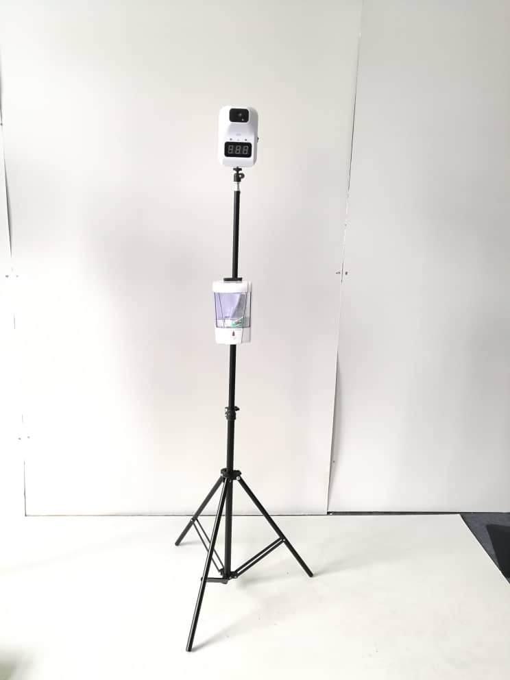 Термометр k3 для измерения температуры тела, автоматический индукционный диспенсер для дезинфицирующего средства для рук, киоск с термометром-4