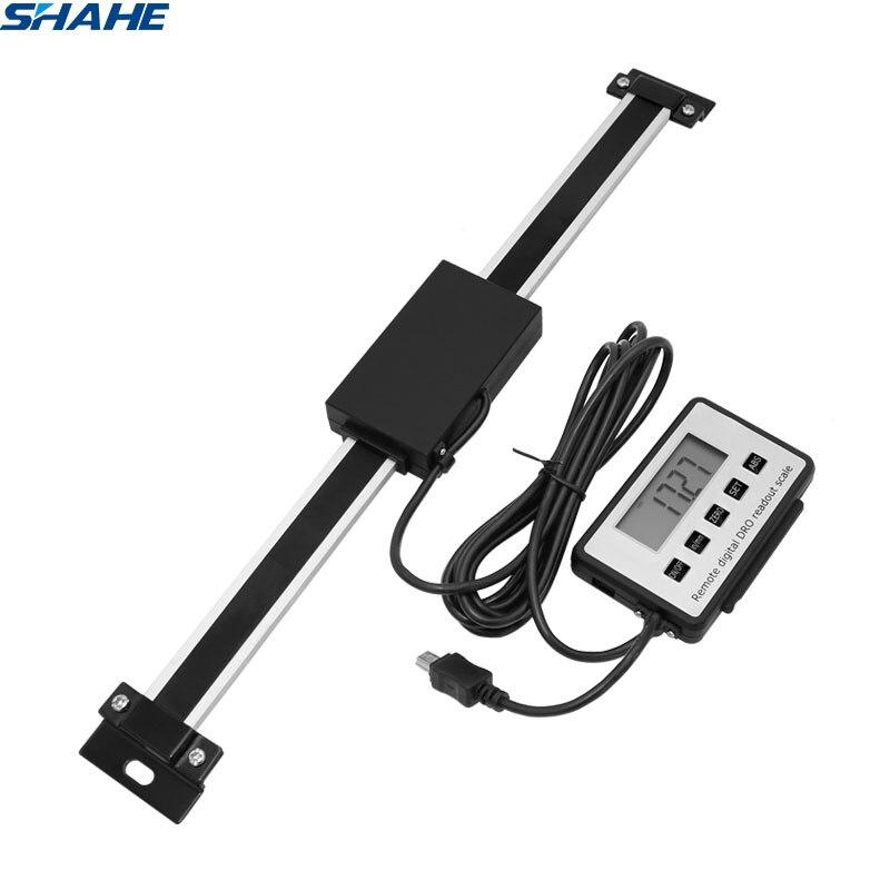 Shahe 0-150mm/0-200mm/0-300mm 0.01mm dro magnético remoto digital leitura linear escala display externo
