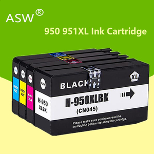 ASW 4PK for HP 950XL for 951XL For HP950 ink cartridge 950 951 Officejet Pro 8600 8610 8615 8620 8630 8625 8660 8680 Printer