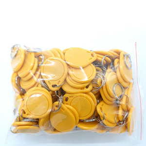 Image 5 - 100pcs UID RFID Tag keyfob for Mif 1k s50 13.56MHz Writable Block 0 HF ISO14443A Used to Copy Cards