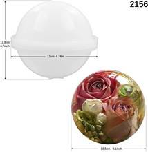 Большая сфера круглая силиконовая форма для смолы искусство