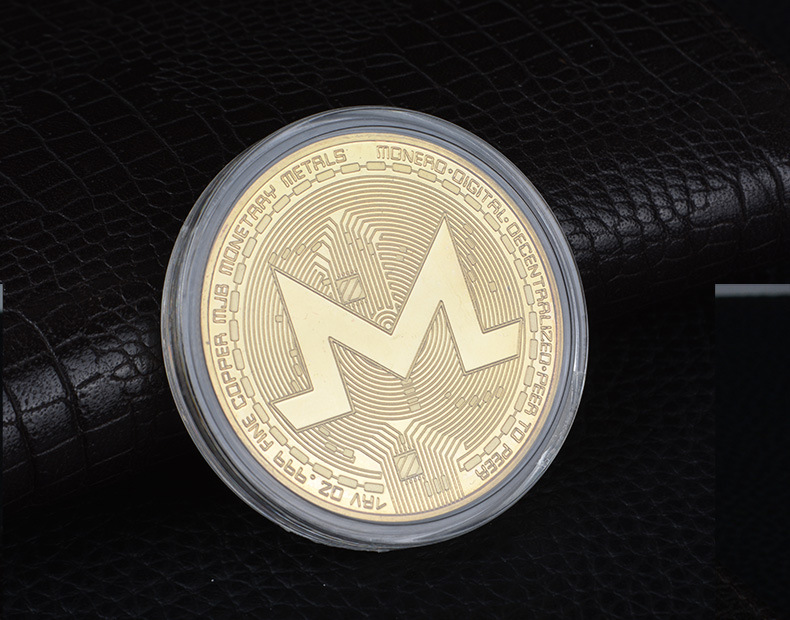 Виртуальная монета битряби эфириума-это больше, чем памятная монета портативного компьютера, Позолоченная серебряная настраиваемая памят...