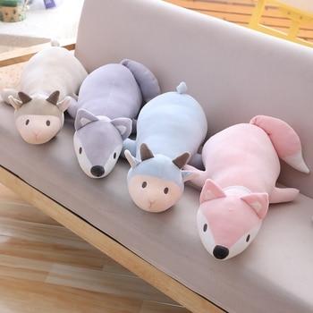 Giant Stuffed Animal Sheep Fox Cartoon Pillow Cushion Pillow Girls Kids Birthyday Doll