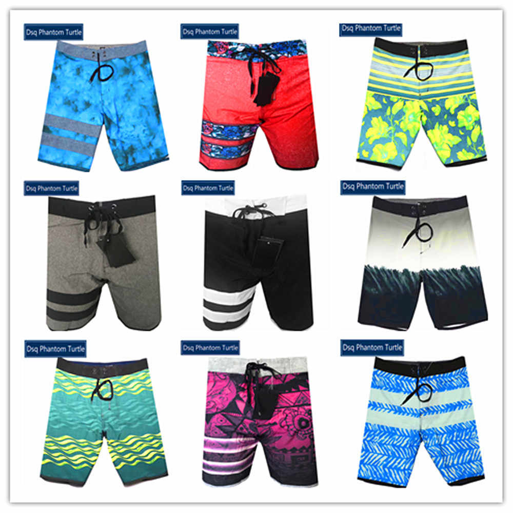 Promotie Polyester Spandex Boardshorts Badmode 2020 Merk Fashion Dsq Phantom Turtle Beach Board Shorts Heren Hawaiian Shorts