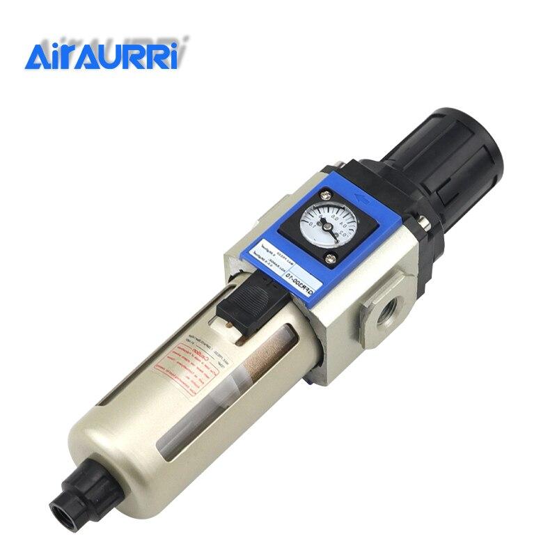 GFR 200 1/8 1/4 3/8 1/2 Filter Regulator One Units Air Source Treatment AIRTAC Type Pressure Regulator Air Filter