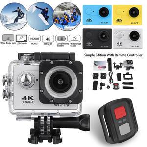 4K Action Camera WiFi Full HD 1080p Waterproof Underwater Video Recording Camera Sport Camera go extreme pro cam