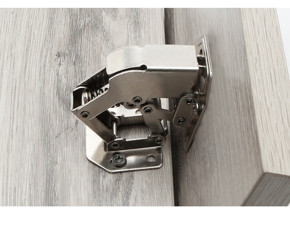 H43d0ce35e43649489e9d64557fed46a54 - MX 90Degree3-4Inch Not Drilling Hole Cabinet Hinge Cabinet door soft closing hinge Hydraulic buffer hinge Furniture hardware