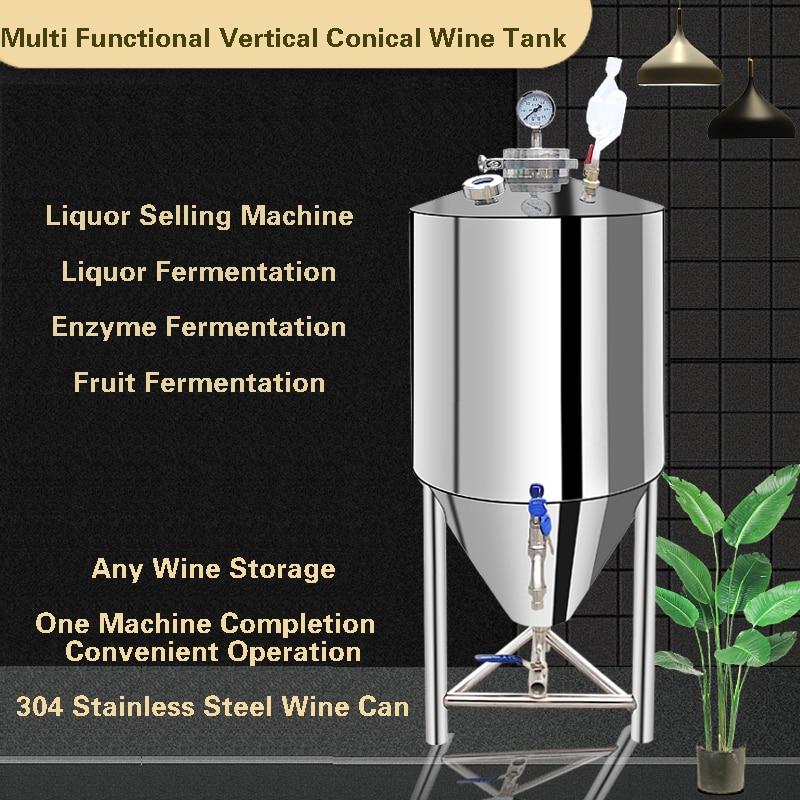 304 Stainless Steel Liquor Tank Sealed Barrel Liquor Tank Liquor Storage Container Milk Barrel Fermentation Tank Oil Barrel