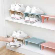 Shoe Storage Double-Shoe-Support Space Plastic Cupboard Economy Integrated Simple
