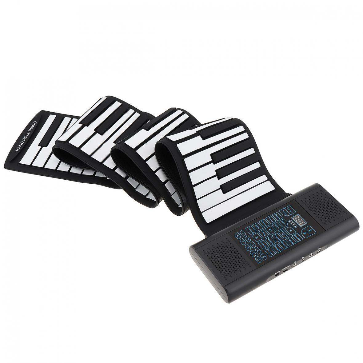 88 teclas rolam acima eletrônico piano recarregável