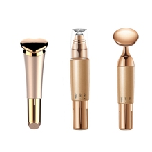 цена на Noble gold face beauty instrument eye massager facial essence electronic introduction beauty instrument