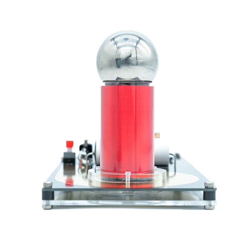 Científico da Eficiência Alta da Conversão da Bobina de Tesla do Gerador de Relâmpago Equipamento Experimental Artificial Super Mini