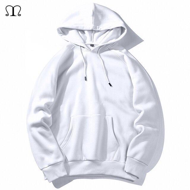 חם צמר נים גברים חולצות 2020 חדש אביב סתיו מוצק לבן צבע היפ הופ Streetwear Hoody איש של בגדים האיחוד האירופי SZIE XXL