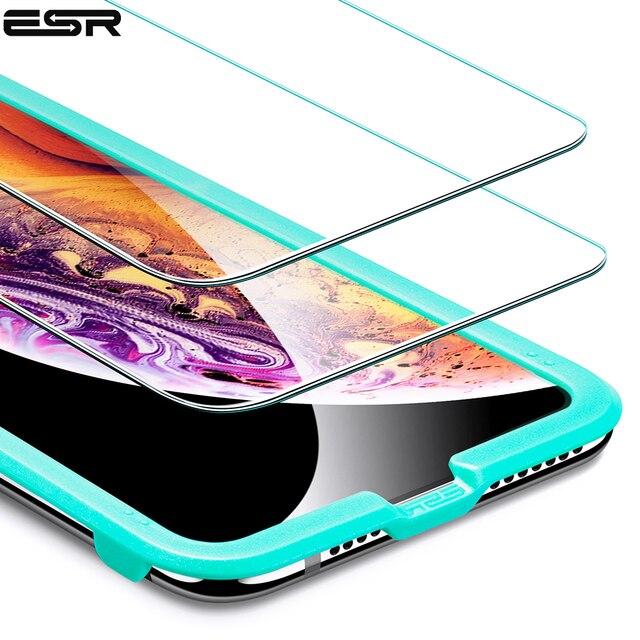 ESR In Vetro Temperato per il iPhone XR 5X Più Forte di Vetro di Protezione Pellicola Protettiva Dello Schermo per il iPhone XS Duro Della Copertura per il iPhone XS Max