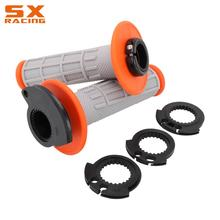 Motorcycle Pair Handlebar Handles Lock on Grips For KTM 125 500 SX SXF EXC EXCF XC XCF XCW TPI SIX DAYS 2008 2020