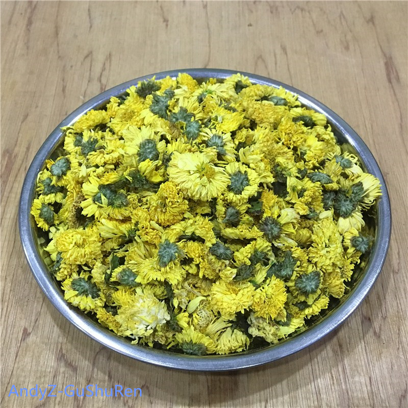 2019 Chinese HuangShan GongJu Chrysanthemum Flower Tea Fresh Natural Organic Green Food For Weight Loss Health Care Kung Fu Tea