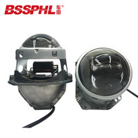 BSSPHL Auto Car Headlight 3.0 inch Bi xenon i3 LED Headlamp lens Car styling Retrofit headlight