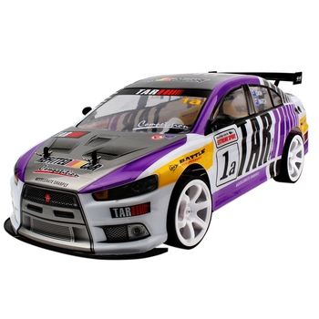 1:10 70Km/H Racing Sports Car High Speed Super Large RC Remote Control High Speed Drift Vehicle Kids Gift (Purple Single Battery 1