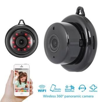 New Mini Wifi Remote IP Camera HD 1080P Wireless Indoor Camera Nightvision Two Way Audio Motion Detection Baby Pet Monitor V380 image