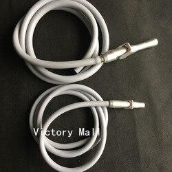 Stomatologiczny ślinociąg zawory ssące HVE/SE z 2 rękojeścią wąż rura fotel dentystyczny części sprzęt stomatologiczny